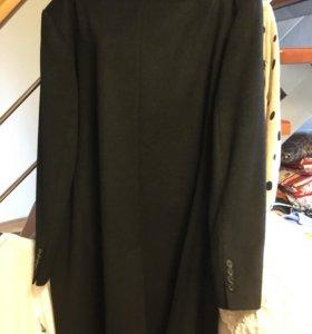 Пальто мужское 60 размер шерсть. Кашемир