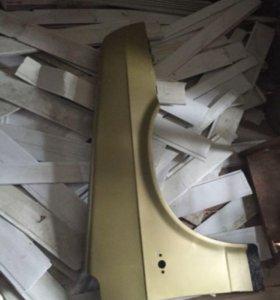 Крыло переднее правое на ваз 2109