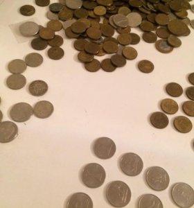 Юбилейный монеты 400шт