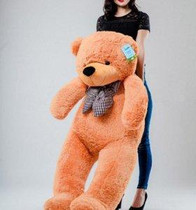 Плюшевый медведь мишка 160см