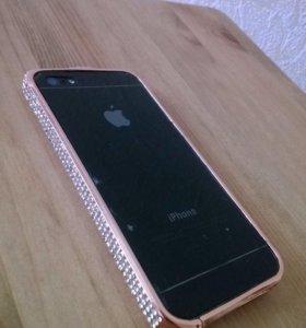 Чехлы на iPhone 5 (5 шт)