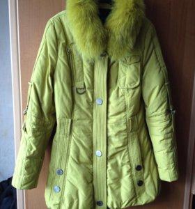 Зимняя куртка 46-48 р.