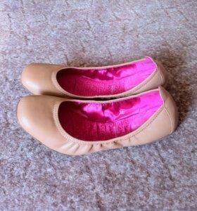 Adidas Кожаные балетки