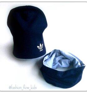 Детская шапка снуд