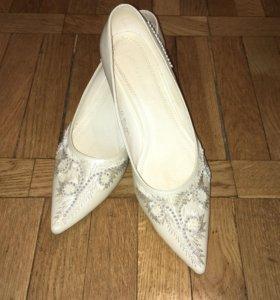 Свадебные туфли 41