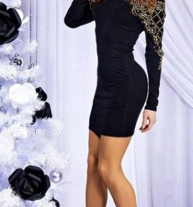 Платье Бэгги, черное