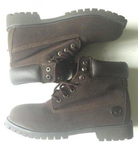 Ботинки Timberland демисезон коричневые