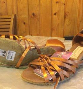Туфли новые для бальных танцев Латина