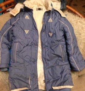 Пальто+куртка