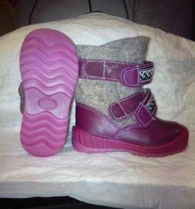 Зимние батиночки новые