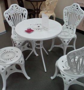 Комплект мебели для сада новая
