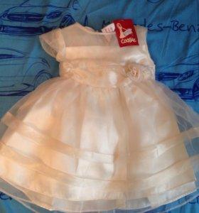 Платье для девочки  на 1-1,5 г