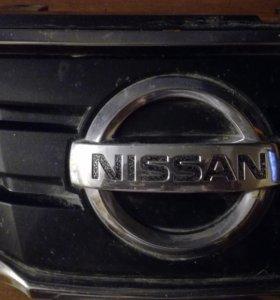 Решетка на ниссан тиида 2010г (рестайлинг)