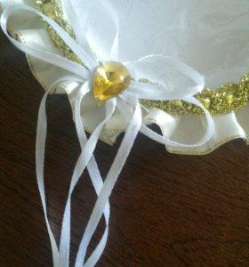 Тарелочка под свадебные кольца