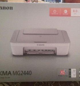 Цветной принтер-сканер Canon