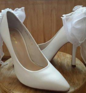 Свадебные туфли 35-36