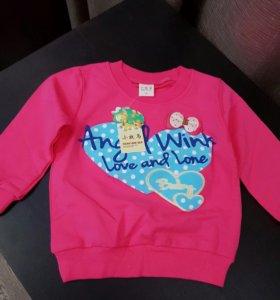 Новая кофточка свитер для девочки