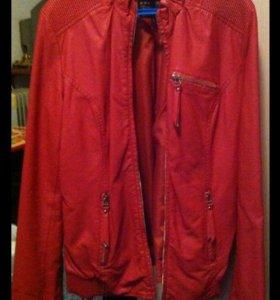 Продам куртку Rufuete (экокожа)!