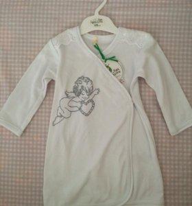 Крестильное полотенце 450₽ и рубашка 400₽