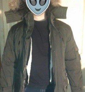 Теплая зимняя куртка с подстежкой (S:42-44)