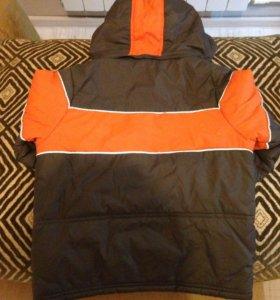 Куртка осенняя на флисе