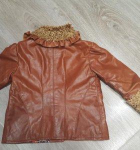 Детская куртка  (нат.кожа)