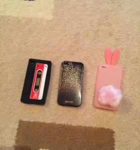 3 чехла на iPhone 4/4s всего за 350₽