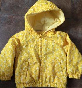 Куртка осенняя 86 р