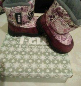 Зимние ботиночки Igly