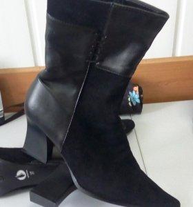 Ботинки зимнии новые!