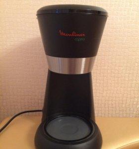 Кофеварка Moulinex caprio без колбы + фильтры