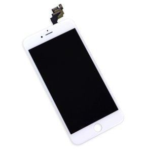 Белый дисплей iPhone 6 в сборе