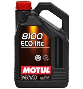 Масло Мотюль Motul 8100 Eco-lite 5W-30 (5L)