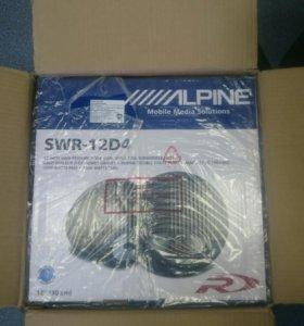Сабвуфер Alpine Swr-12D4
