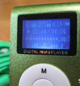 Мини mp3 плеер с ЖК экраном