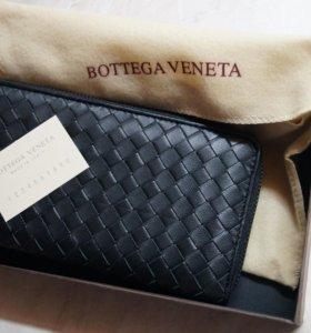 Клатч Bottega Veneta (кожа)