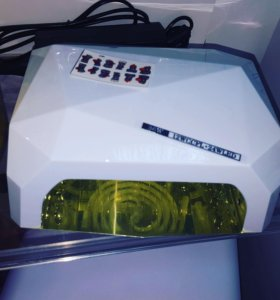 Комбинированная лед лампа для сушки гель лака