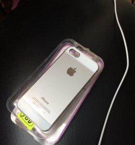 Задняя накладка на iPhone 5. 5s
