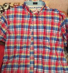 Брендовые мужские рубашки большого размера.