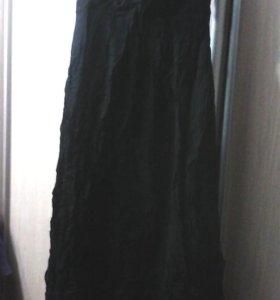 Платье черное на стройную девушку на выпускной
