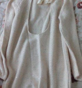 Платье женское начало