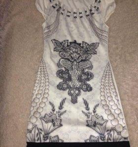 Платье трикотажное размер S, новое, суперкрасивое!