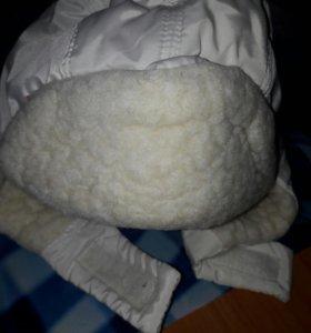 Зимняя шапка на овчине на 2/3гг