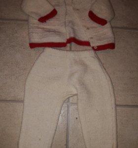 Шерстяной костюм 86см
