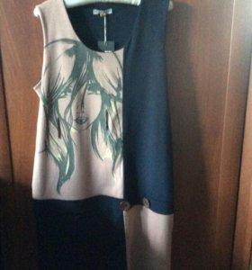 Платье трикотажное/платье для беременных