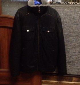 Кожаная куртка (зимняя)