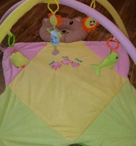 Развивающая Полянка с игрушками