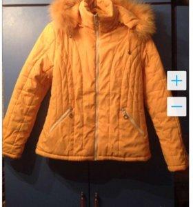 Куртка зима подростковая