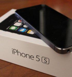 Чёрный Дисплей iPhone 5S модуль в сборе