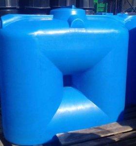 Емкости пластиковые от 500 до 2000 литров